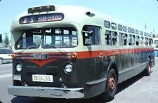 Ottawa Transit Company GM Old Look bus Kodachrome original Kodak slide