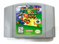 AUTHENTIC! Super Mario 64 - Original Nintendo 64 N64 Game - Tested Works Perfect