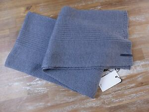 DIOR HOMME gray rectangle wool scarf authentic - NWT