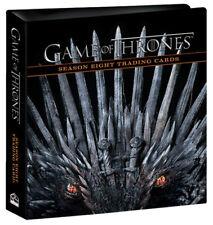 Rittenhouse 2020 Game of Thrones Season 8 Trading Card Binder Album w/ P2 Promo