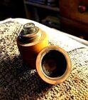 Antique+Figural+Barrel+Travel+Ink+w.+Blown+Bottle.+Stoneware+Barrel