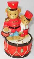 Cherished Teddies - Brock and Sheldon - Avon - The Beat of Holiday Fun - 0000919