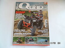 QUAD PASSION MAGAZINE N°146 08/2012 POLARIS SCRAMBLER XP 850 MASAI A500I    I27