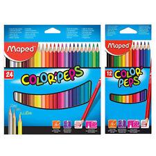 Maped Colour Peps 12/24 High Quality Easy Grip Colouring Pencils