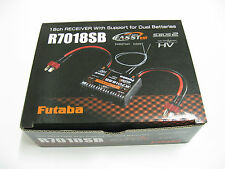 New rc electronics 2.4ghz s.bus2 hv high voltage system futaba receiver r7018sb