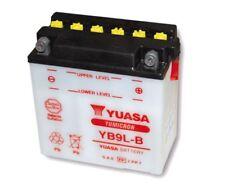 12V 9Ah YUASA Batterie YB9L-B (135 x 75 x 139 mm) für Yamaha SR 500