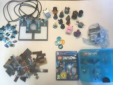 PS4 Lego Dimensions Set - The Simpsons , Doctor Who , Fantastic Beast add on