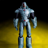 7'' DC Justice League Cyborg Action Figure Victor Stone Super Hero Toy Robot