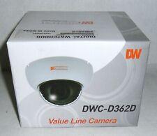 New Digital Watchdog DWC-D362D 540TVL Indoor D/N Dome Camera 2.8-11mm VAI Lens