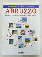 Guida Abruzzo italiano - inglese. 190 pagine a colori. Libro Nuovo in offerta !