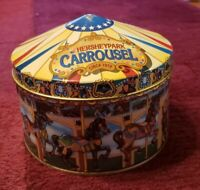 Vintage 1996 Hershey Park 1919 Carrousel Hometown Series Canister #13 Metal Tin