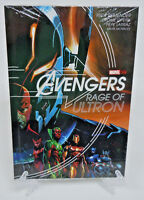 Avengers Rage of Ultron Remender Opena Marvel OGN HC Hard Cover New Sealed