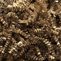 500g Shredded CRINKLE CUT Paper Natural KRAFT   Gift Hamper Shred Filler