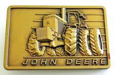 John Deere 4450 Tractor 4WD Farming Agriculture 1980's Vintage Belt Buckle
