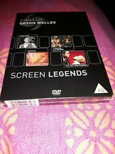 Orson Welles - The Screen Legends Collection DVD brand new sealed citizen kane