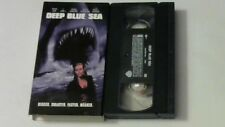 DEEP BLUE SEA VHS Thomas Jane, LL Cool J, Michael Rapaport, Samuel L. Jackson NM