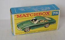 Repro box Matchbox 1:75 nº 75 ferrari berlinetta nuevos