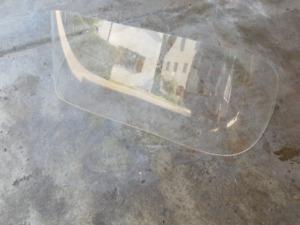 Universelle Bootsscheibe für Boote 125cm Breite