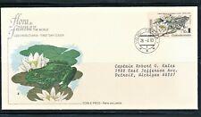 CZECHOSLOVAKIA 1983 AMPHIBIAN FROG FDC SCT 2457