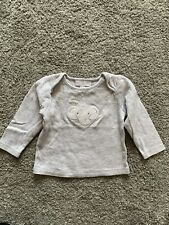 The Little White Company Long Sleeve Top. 9-12 Months. New