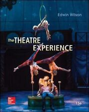 The Theatre Experience by Edwin Wilson 13th Ed. TEXTBOOK ISBN 9780073514277