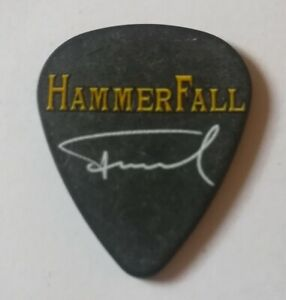 Hammerfall , Fredrik Larsson Gitarre Plektrum , Guitar Pick , Plek