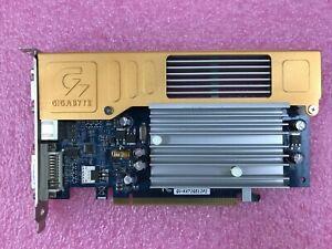 GIGABYTE GeFORCE 7200 GS PCIe VGA VIDEO GRAPHICS CARD GV-NX72G512P2 DVI
