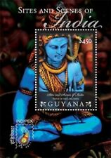 Guyana - 2011 - Indipex 2011 Sites And Scenes Of India - Souvenir Sheet - MNH