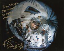 "Nasa Astronaut Rusty Schweickart hand signed 8""x10"" Pre-Flight Photo"