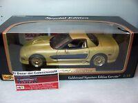 1:18 2003 Chevrolet Corvette Guldstrand Signature Edition - MAISTO - 3L 050