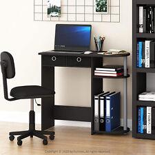 Black Small Desk Students Kids Computer College Apartment Dorm Bedroom Furniture