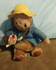 "Vintage Paddington Bear 1975 From Darkest Peru Eden Toys 14"" Usa"