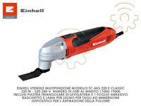 Einhell TC-MG utensile multifunzionale levigatrice taglia immersione legno con a