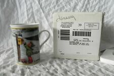 "Hummel January ""Skier"" Porcelain Coffee Mug Tea Cup Danbury Mint"