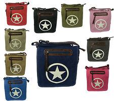 Markenlose Damentaschen mit verstellbaren Trageriemen und Magnetverschluss