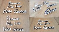DISNEY Style Font Personalised Wooden Name Plaques Words Letters Wall Door Sign