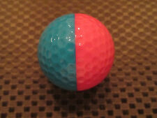 PING GOLF BALL-PINK/TEAL PING EYE 2 #2....9.9/10....NO LOGO.....