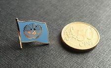 DISTINTIVO METALLO BANDIERA ONU CH SPILLA NAZIONI UNITE UNITED NATIONS METAL P