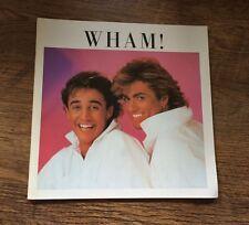 ❤️MEGA RARE❤️The Big Tour Japanese Programme NM-Wham (George Michael)