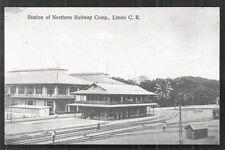 Costa Rica Puerto Port Limon Railway Station Estacion 1910