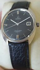 Omega Seamaster Cosmic 136.017 cal 613 rare black crosshair dial great condition
