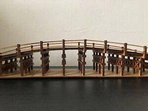 28mm Japanese Uji Bridge unpainted kit, 60cm long.