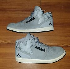 Boys Gray Nike Jordan Flight 3 Shoes Size 2Y