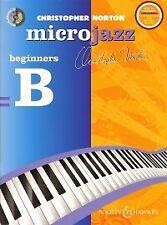 MICROJAZZ BEGINNERS B Norton Book & CD