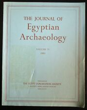 The Journal of Egyptian Archaeology Volume 71 1985 + Review Supplement Volume