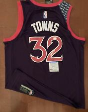 Karl Anthony Towns Signed Autographed Jersey PSA/DNA Authentication Wolves