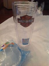 Harley Davidson 24oz Tervis Tumbler Cup Hot+Cold Lifetime Guarantee with Lid