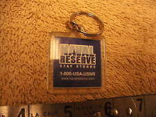 "US Navy NAVAL RESERVE "" Stay Strong"" Key Chain"