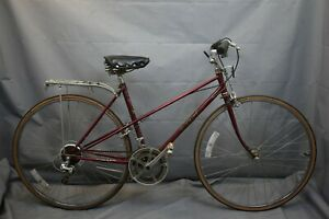 1979 Miyata 310 Vintage Cruiser Bike X-Small 49cm Suntour Red Steel USA Charity!