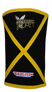 Titan Yellow Jacket Knee Sleeves - Powerlifting - IPF Legal - 3rd generation